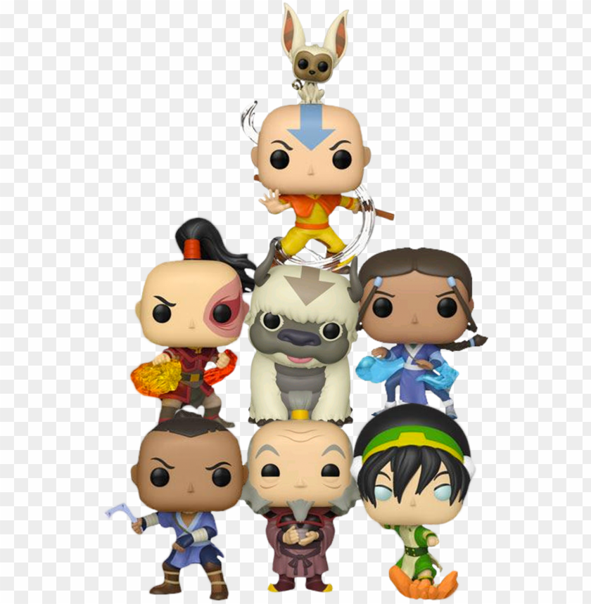 free PNG funko pop avatar the last airbender - avatar the last airbender pop vinyls PNG image with transparent background PNG images transparent