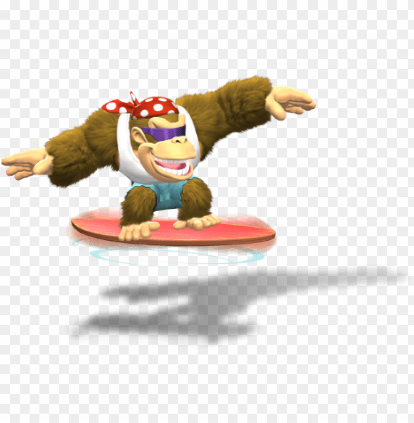 free PNG funky kong tropical freeze - donkey kong country tropical freeze funky ko PNG image with transparent background PNG images transparent