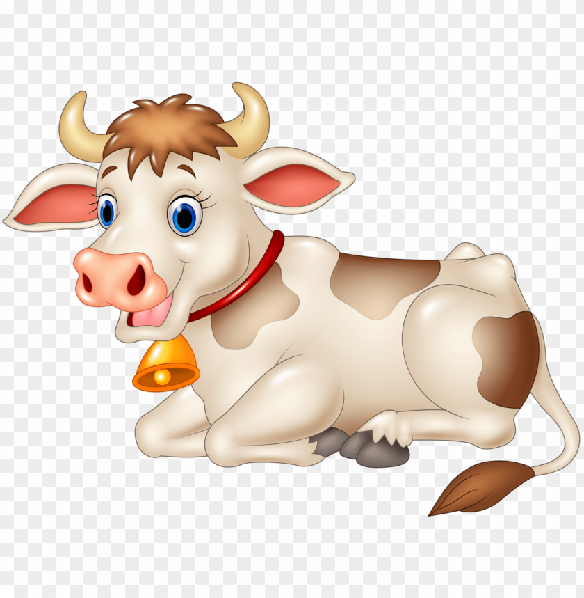 free PNG funny cartoon animals png cow soloveika - cow cartoon vector PNG image with transparent background PNG images transparent