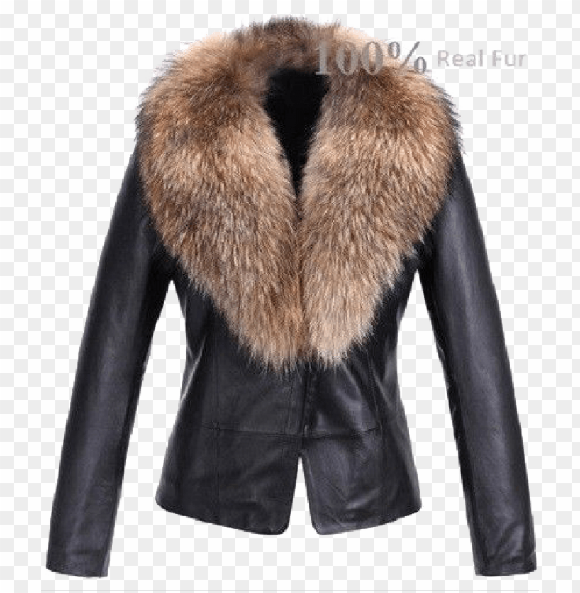 free PNG fur lined leather jacket png - Free PNG Images PNG images transparent
