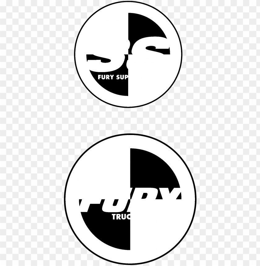 free PNG fury skateboard trucks logo black and white - fury trucks PNG image with transparent background PNG images transparent