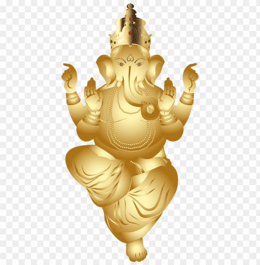 free PNG Download ganesha gold clipart png photo   PNG images transparent