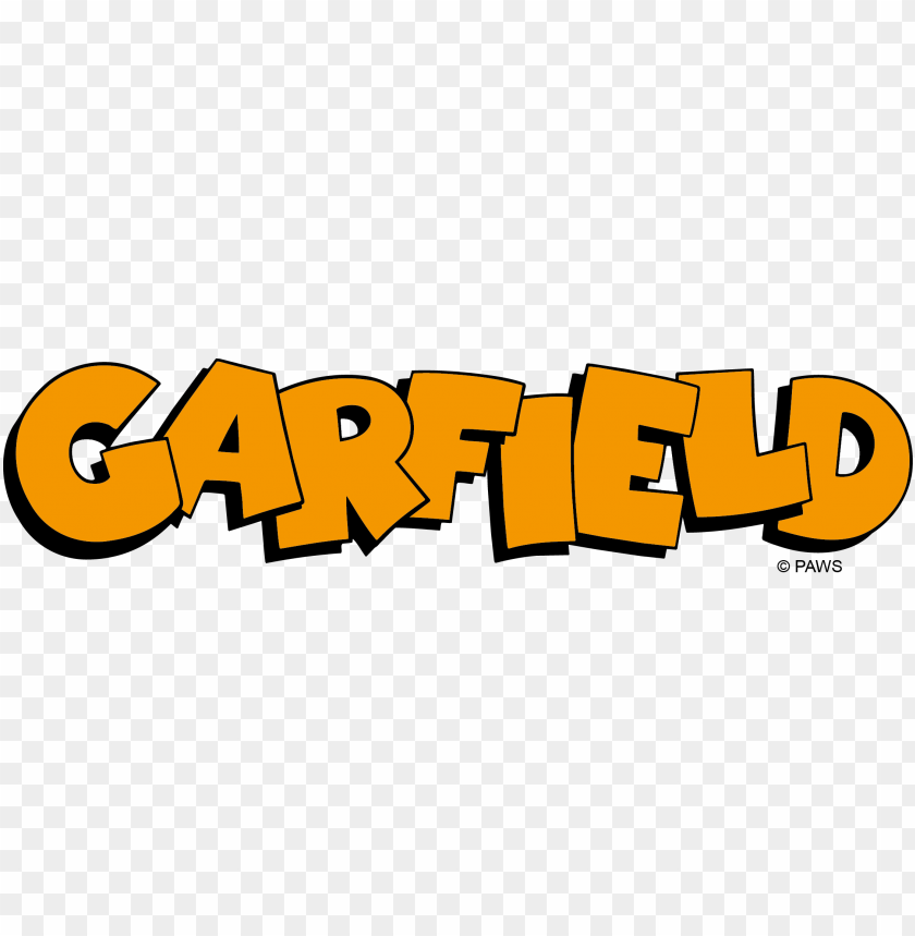 Download Garfield Logo Clipart Png Photo Toppng