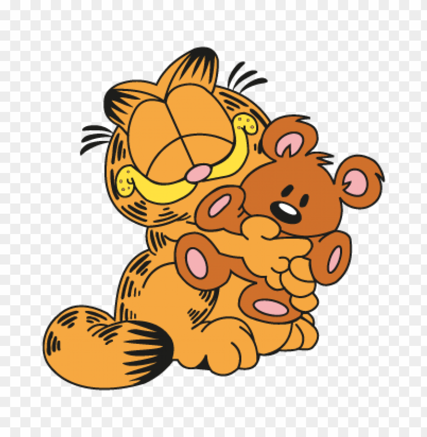 Garfield Pooky Logo Vector Download Free Toppng