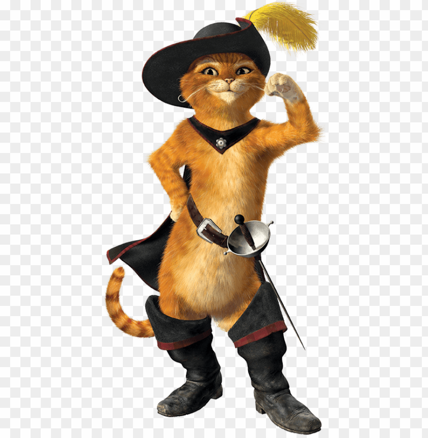 Gato Con Botas Shrek 2 Puss In Boots Png Image With Transparent Background Toppng