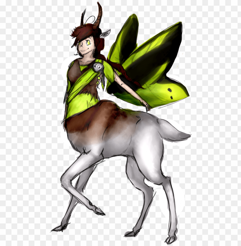 free PNG gazelle/butterfly/human hybrid thing - gazelle/butterfly/human hybrid thing PNG image with transparent background PNG images transparent