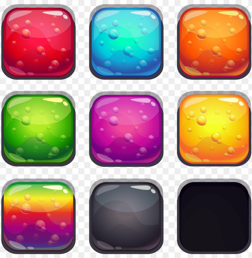 free PNG gelatin dessert button user interface - jelly button PNG image with transparent background PNG images transparent