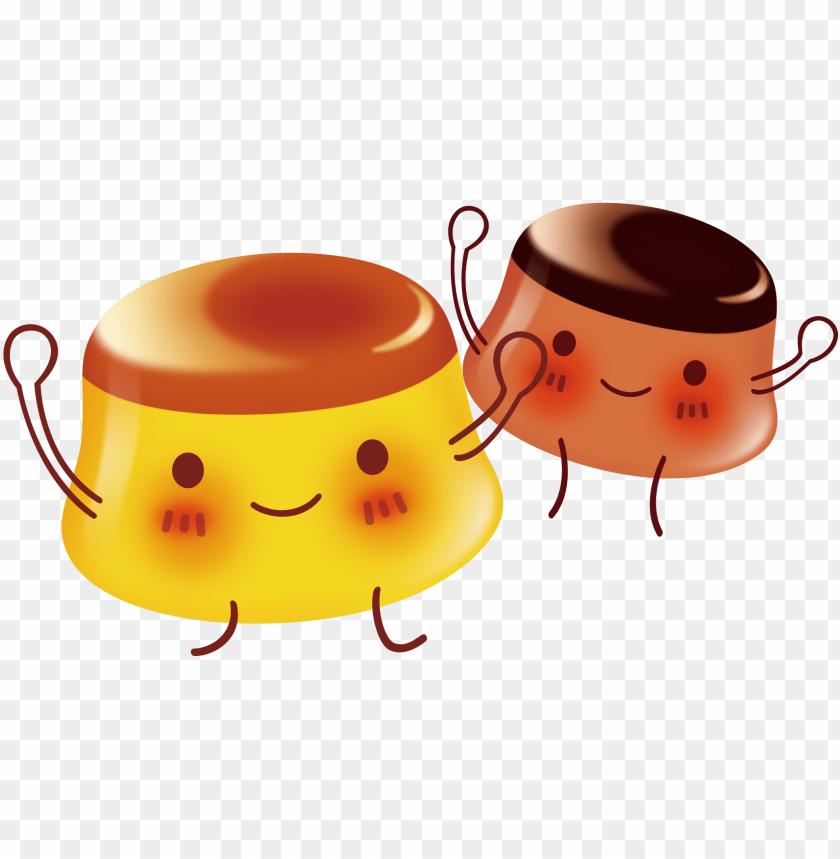 free PNG gelatin dessert nata de coco pudding - 果凍 可愛 PNG image with transparent background PNG images transparent