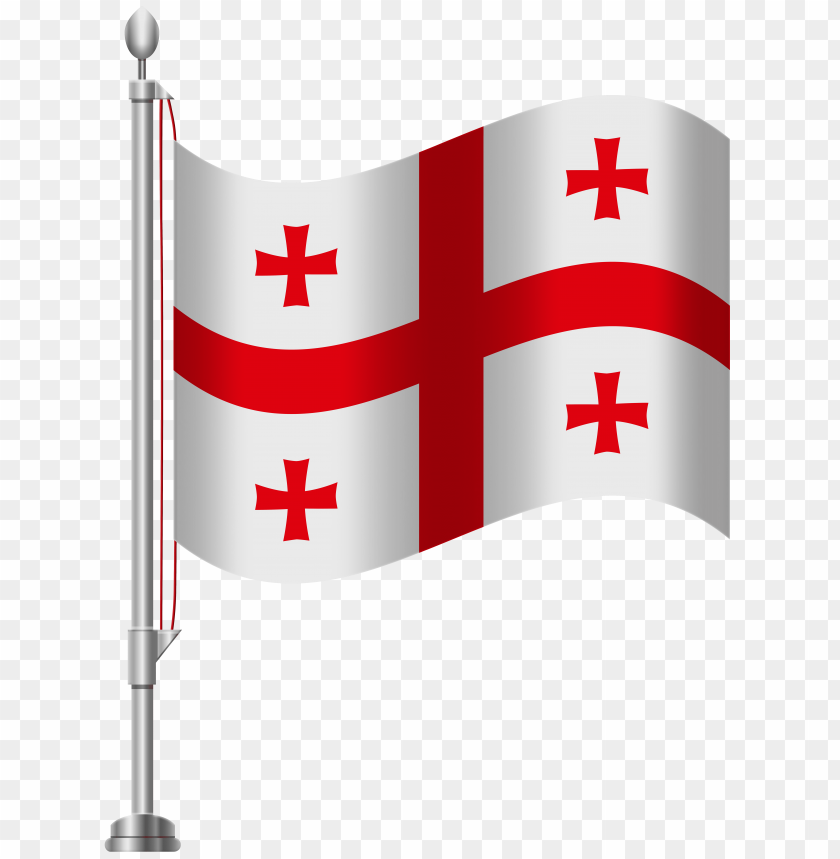 free PNG Download georgia flag clipart png photo   PNG images transparent