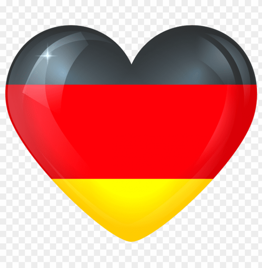free PNG Download germany large heart flag clipart png photo   PNG images transparent