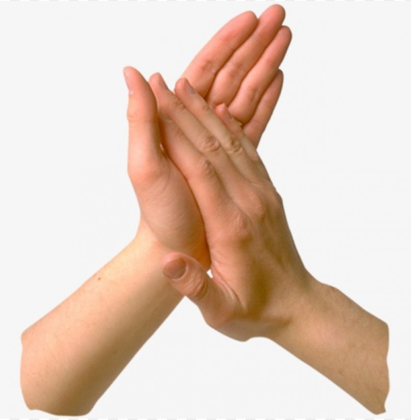 free PNG Download gestures applause palm clipart png photo   PNG images transparent