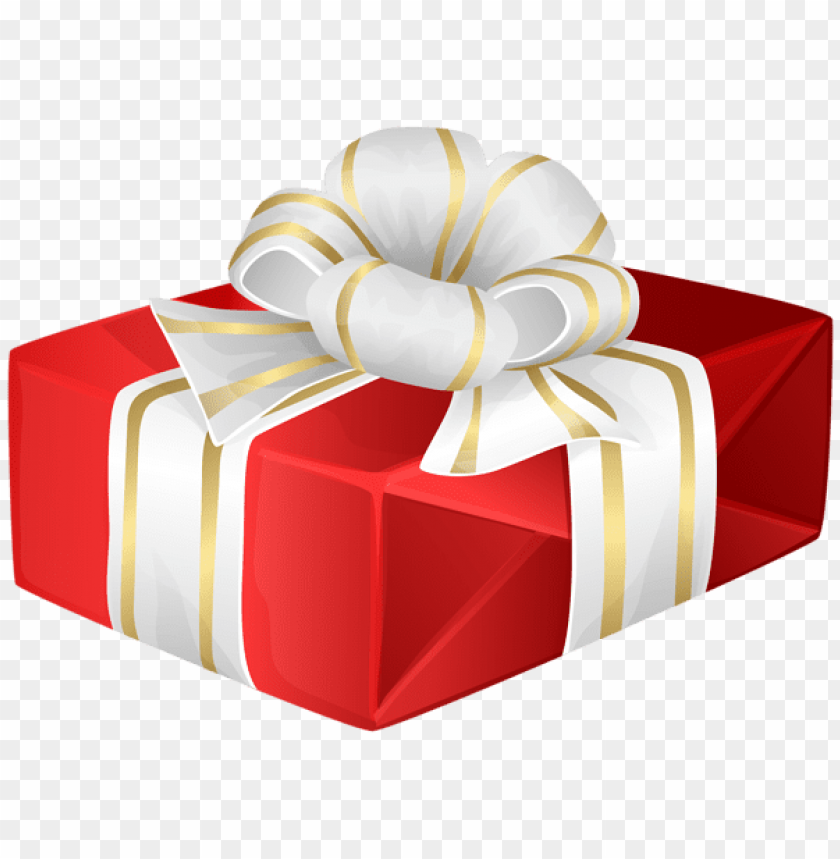 Download Gift Box Red Transparent Clipart Png Photo Toppng