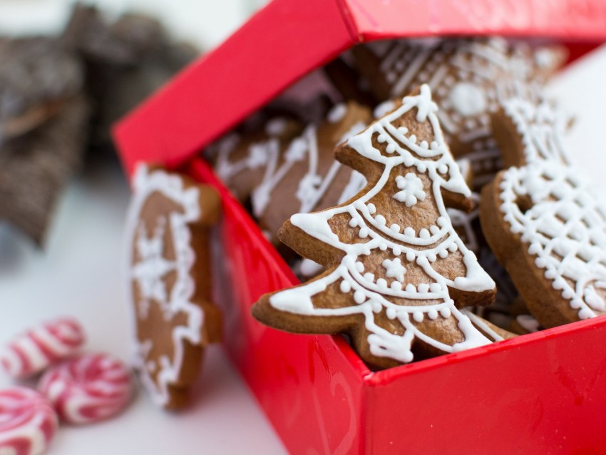 free PNG gingerbread, cookies, new year, christmas, baking background PNG images transparent