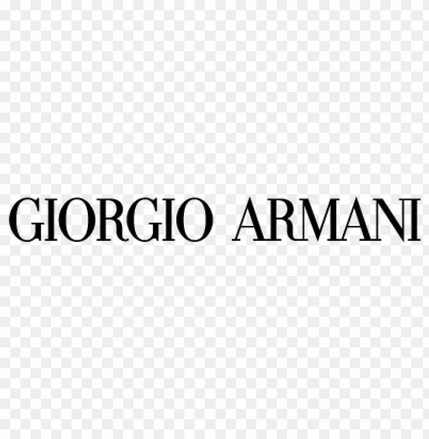 free PNG giorgio armani italy vector logo PNG images transparent