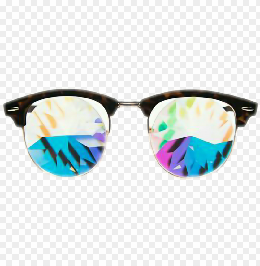 free PNG #glasses #glass #crystal #summer #winter #autumn #sunglasses - electric blue PNG image with transparent background PNG images transparent
