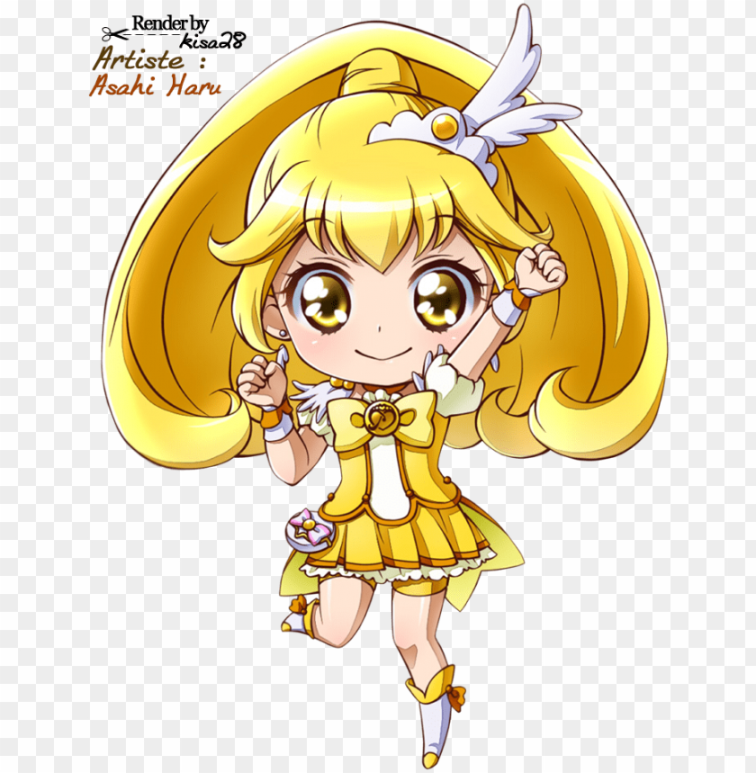 free PNG glitter force pretty cure chibi PNG image with transparent background PNG images transparent