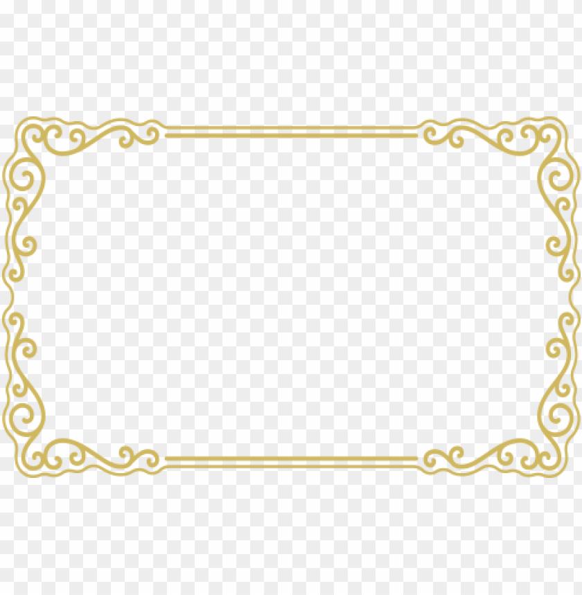 free PNG gold border frame png - Free PNG Images PNG images transparent