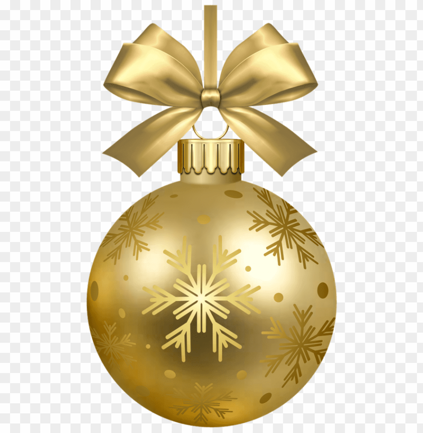 free PNG gold christmas ornament png PNG image with transparent background PNG images transparent