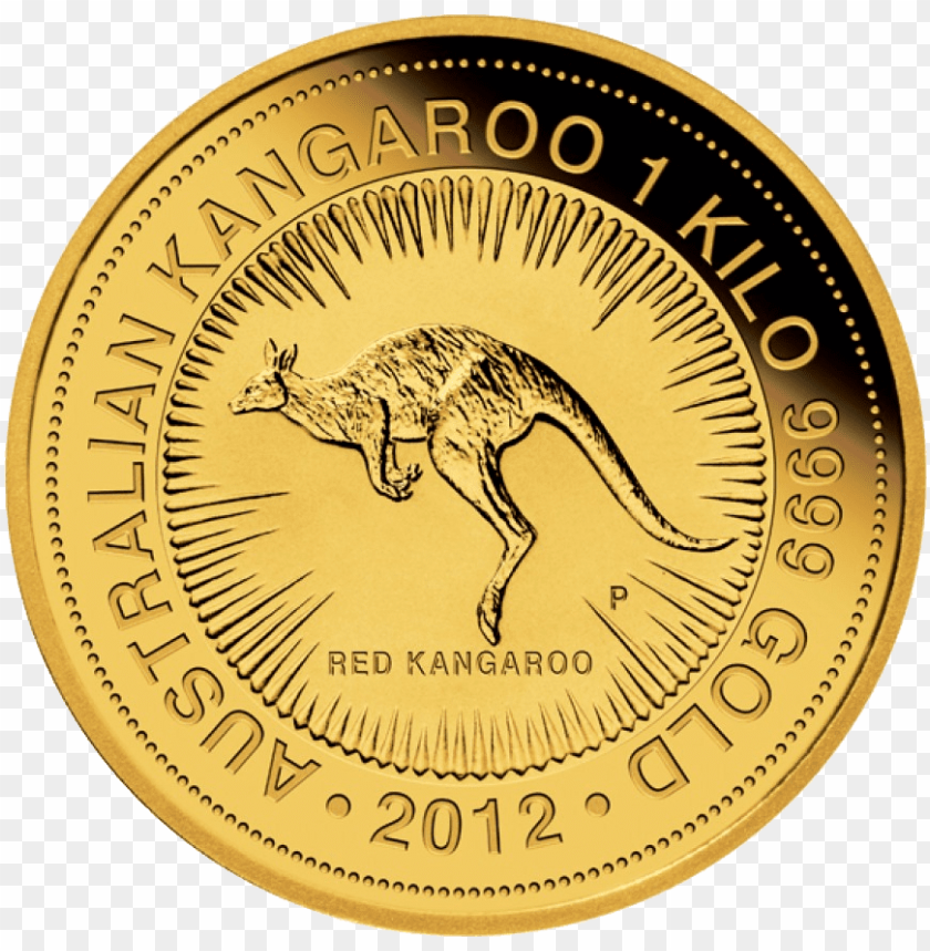 free PNG Download gold coin kangaroo png images background PNG images transparent