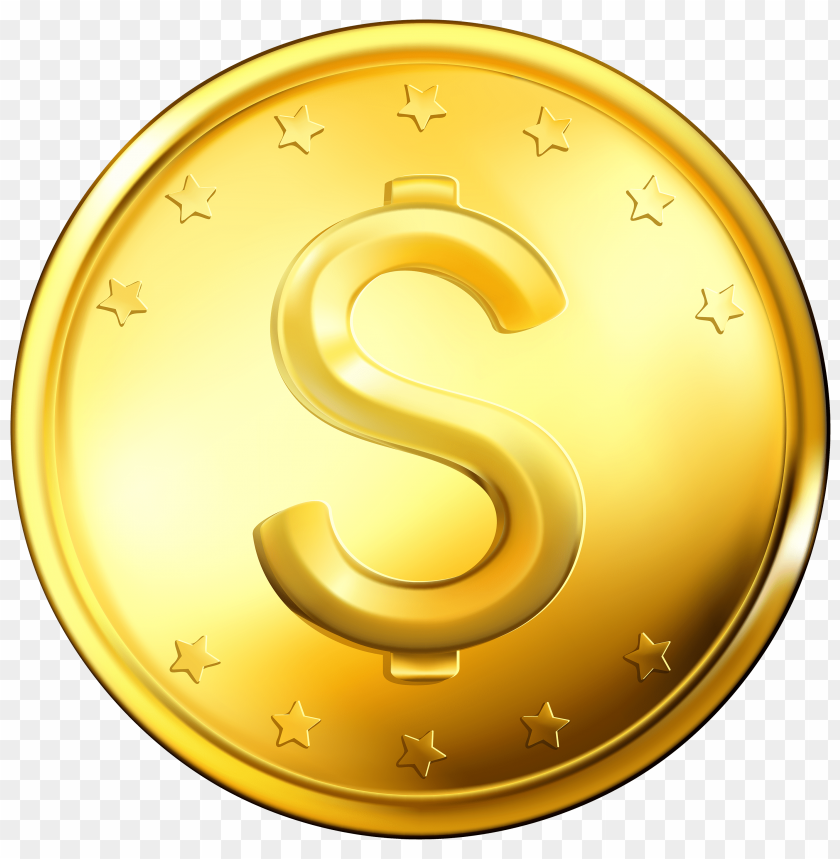 free PNG Download gold coins clipart png photo   PNG images transparent