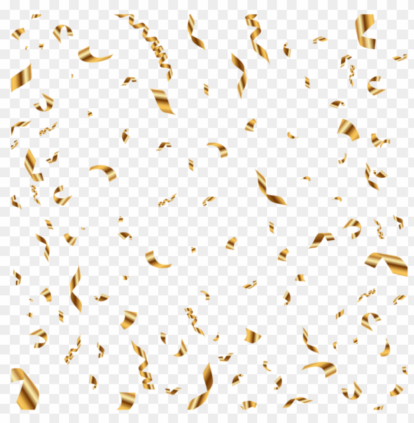 free PNG Download gold confetti transparent clipart png photo   PNG images transparent