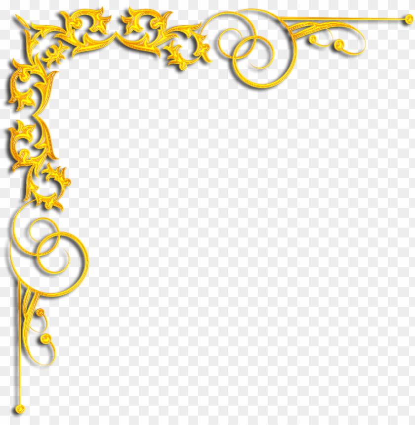 free PNG gold corner designs png PNG image with transparent background PNG images transparent