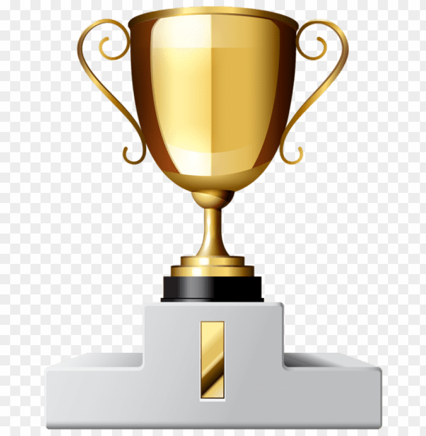 free PNG Download gold cup first place clipart png photo   PNG images transparent