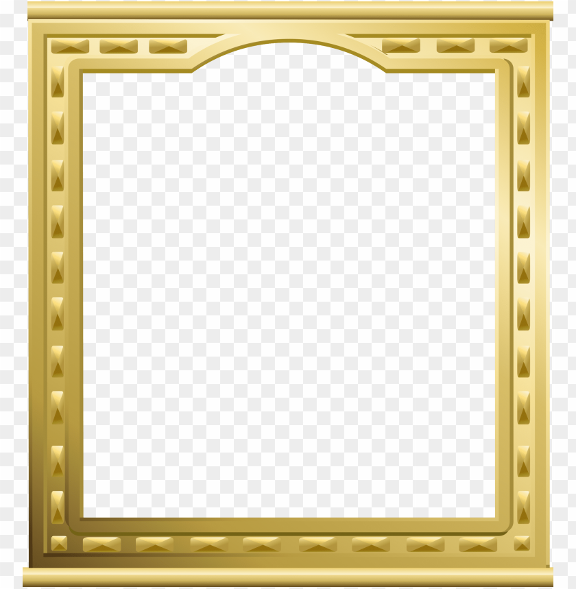 free PNG gold frame a4 PNG image with transparent background PNG images transparent