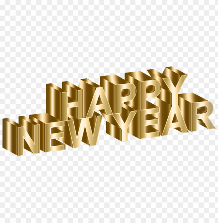 free PNG gold happy new yearimage PNG image with transparent background PNG images transparent