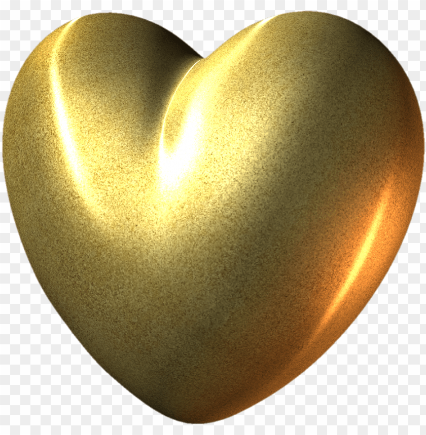 free PNG gold heart .png PNG image with transparent background PNG images transparent