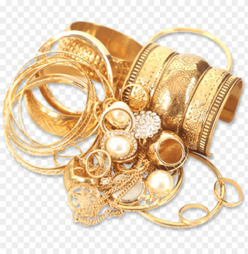 Gold Jewelry Png Free Png Images Toppng