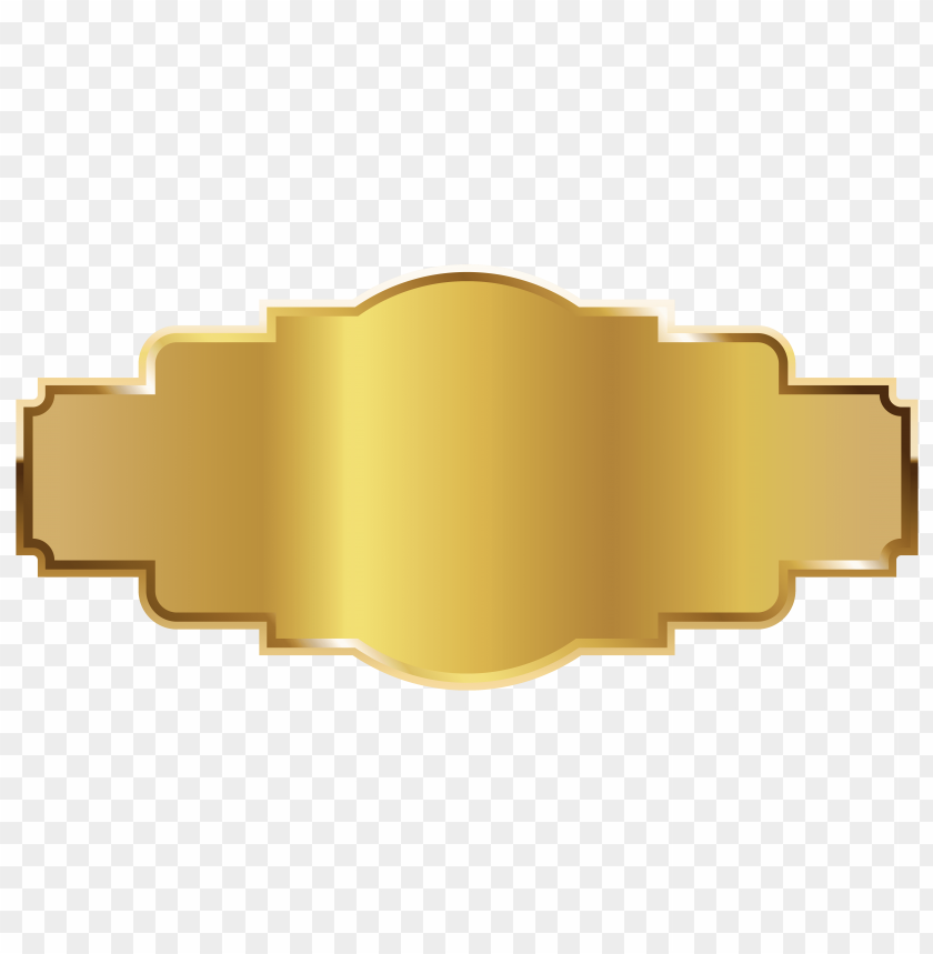 free PNG Download gold label template clipart png photo   PNG images transparent