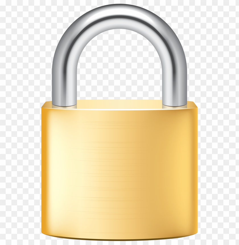free PNG Download gold lock clipart png photo   PNG images transparent