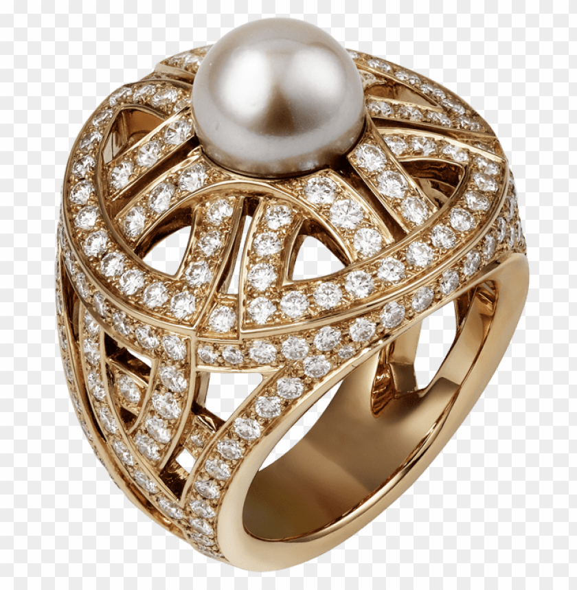 free PNG Download gold ring with pearl clipart png photo   PNG images transparent