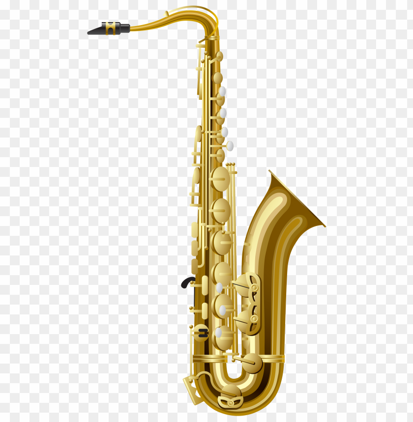 free PNG Download gold saxophone clipart png photo   PNG images transparent