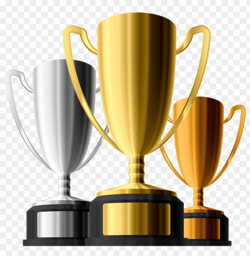 free PNG Download gold silver bronze trophies clipart png photo   PNG images transparent