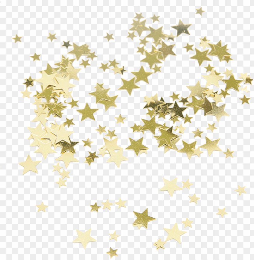 free PNG gold star confetti PNG image with transparent background PNG images transparent