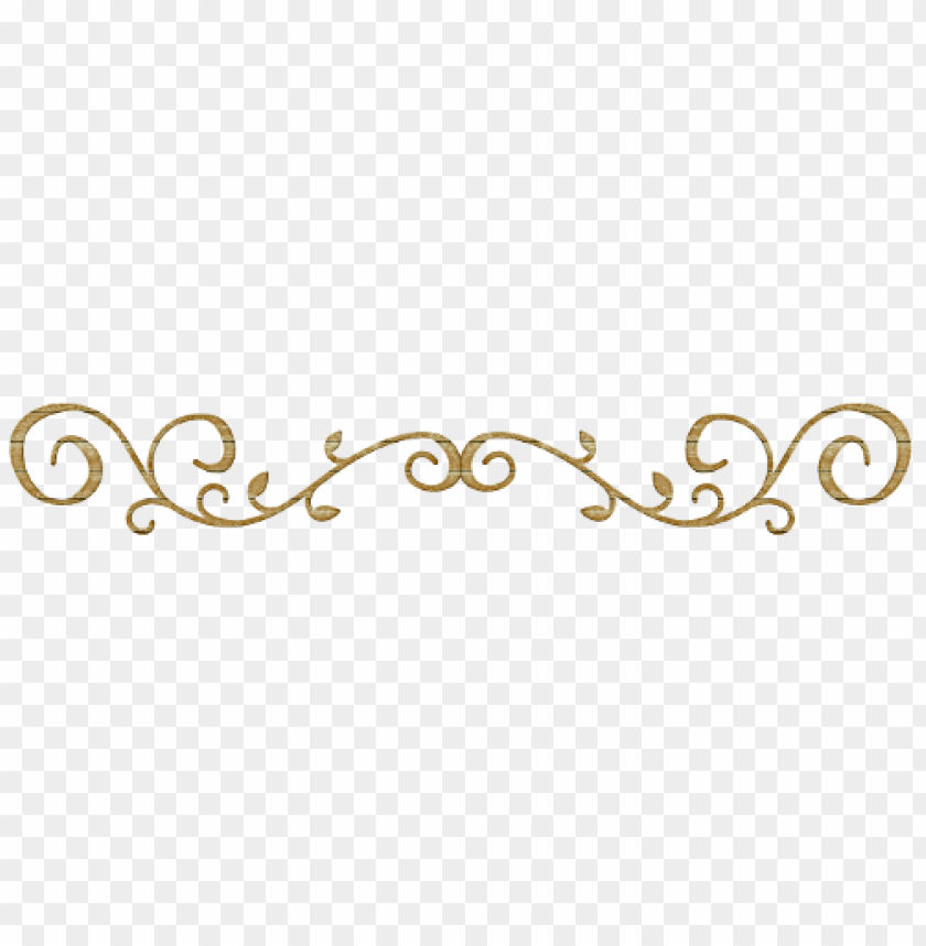 Gold Swirl Design Png Png Image With Transparent Background Toppng