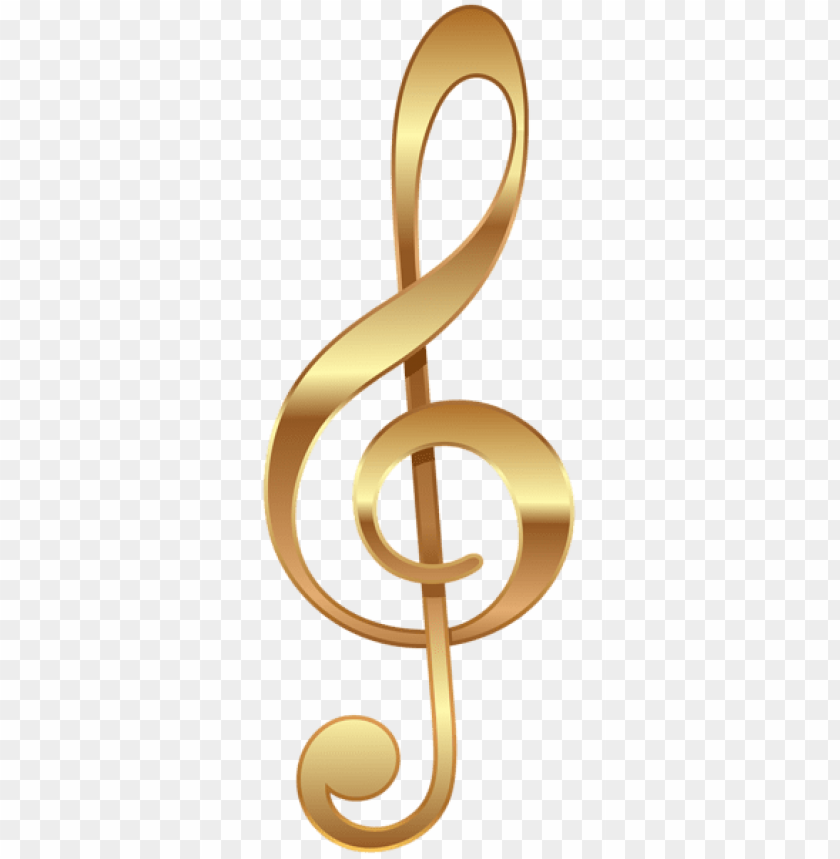 free PNG Download gold treble clef png images background PNG images transparent