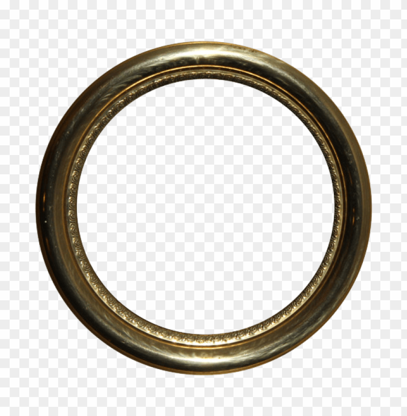free PNG golden round frame png - Free PNG Images PNG images transparent