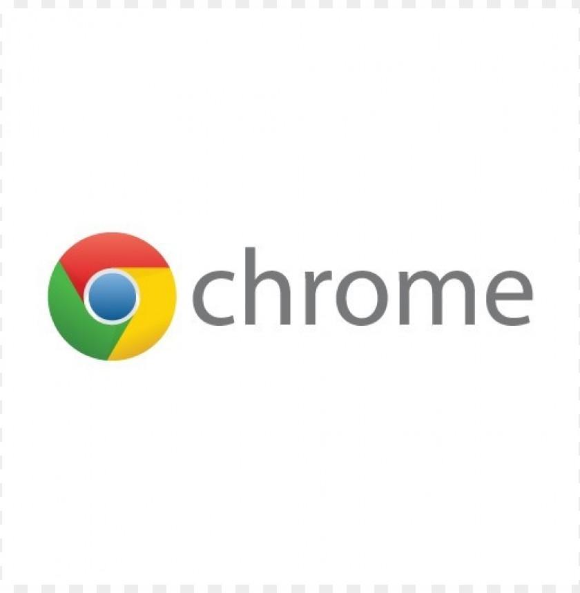 free PNG google chrome (wordmark) logo vector download PNG images transparent