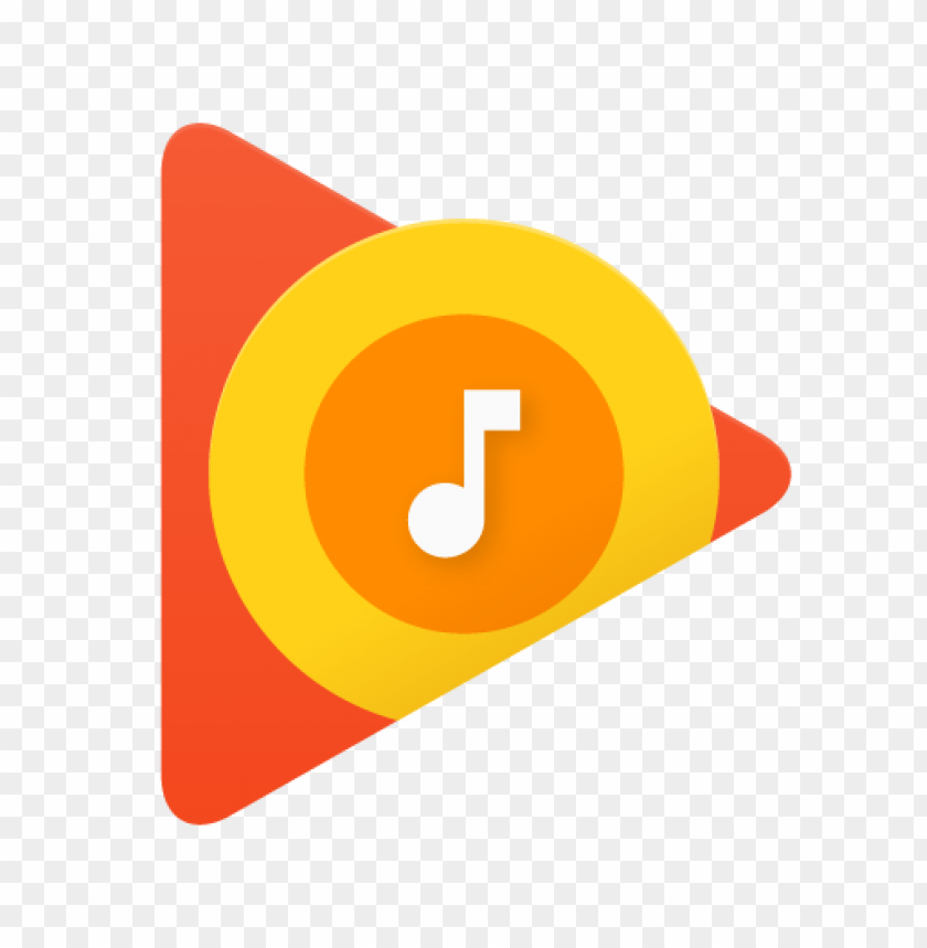 free PNG google play music logo vector PNG images transparent