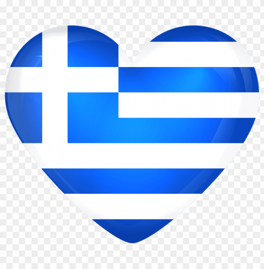 free PNG Download greece large heart flag clipart png photo   PNG images transparent