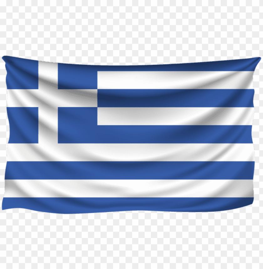 free PNG Download greece wrinkled flag clipart png photo   PNG images transparent