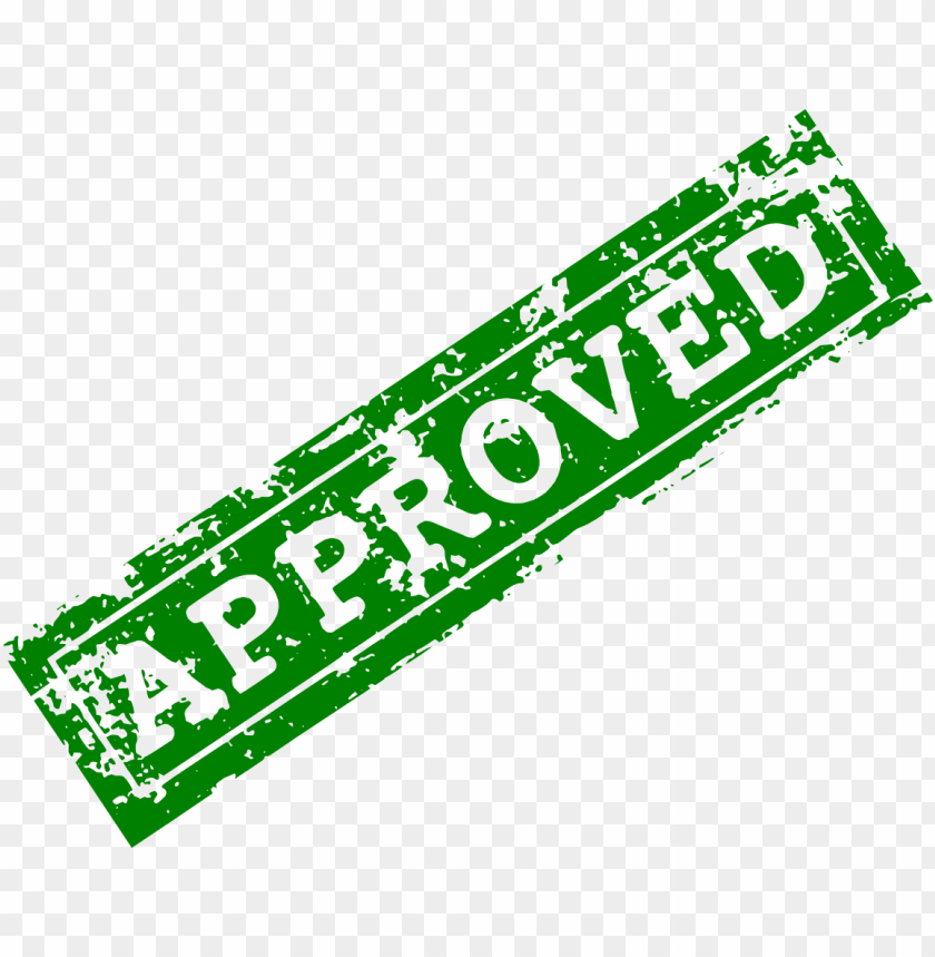 free PNG green approved stamp png - Free PNG Images PNG images transparent