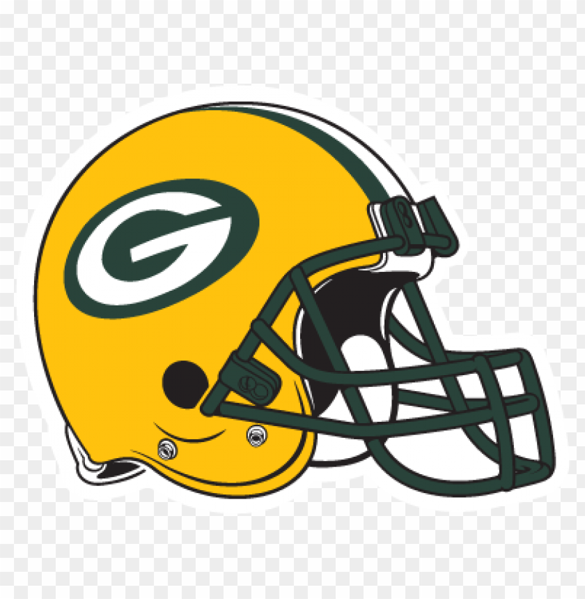 Green Bay Packers Helmet Logo Vector Download Free Toppng