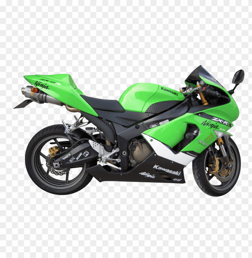 free PNG Download green kawasaki motorcycle png images background PNG images transparent