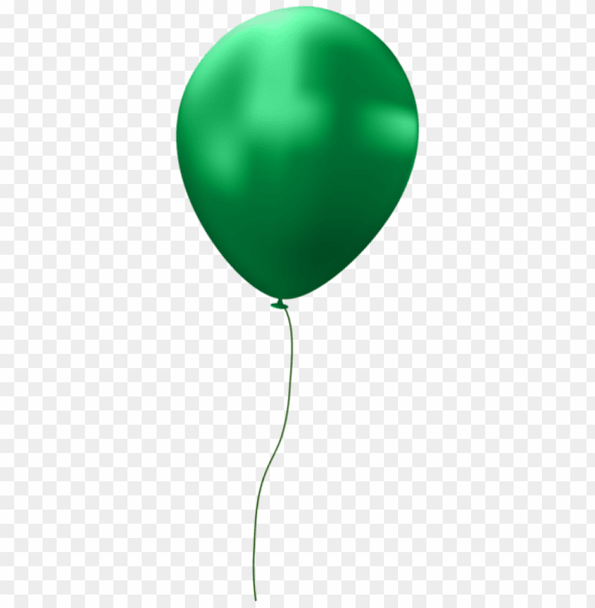 free PNG Download green single balloon png images background PNG images transparent
