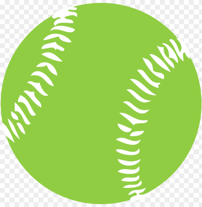 free PNG green softball PNG image with transparent background PNG images transparent