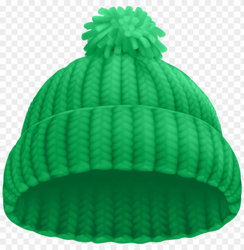 Download Green Winter Hat Clipart Png Photo Toppng